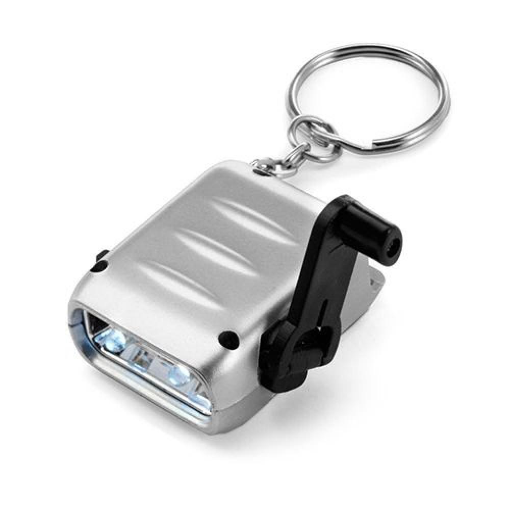 Брелок-фонарик с встроенным моторчиком для подзарядок 102081 под печать
