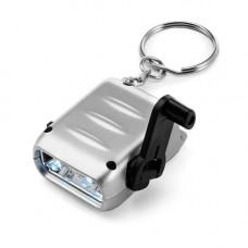 Брелок-ліхтарик з вбудованим моторчиком для підзарядок 102081 під друк