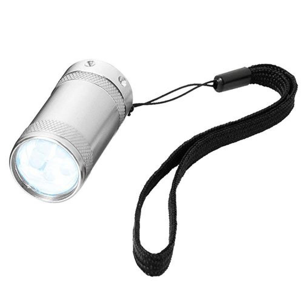 Компактний металевий ліхтарик з яскравими LED діодами 104166 під гравіювання