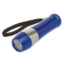 Ліхтарик в алюмінієвому корпусі з LED джерелами світла 90403 під гравіювання логотипу