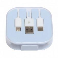 Зарядный кабель-переходник  3 в 1