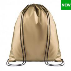 Рюкзак-мішок NEW YORK з поліестеру 190T з 2-ма чорними лямками, 36х40 см