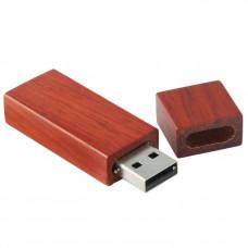 Дерев'яна флешка WD15 4Гб, 8Гб, 16Гб, 32Гб, 64Гб