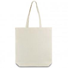 Эко-сумка из хлопка (39х41х8 (дно) см) 210г/кв.м Украинского производства