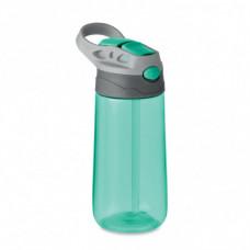 Якісна пляшка для пиття, з назвою SHIKU, з гумовими накладками, під нанесення логотипу