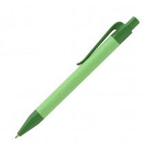 Практична ручка з біо-розкладаємої кукурудзи та крафтового паперу під логотип