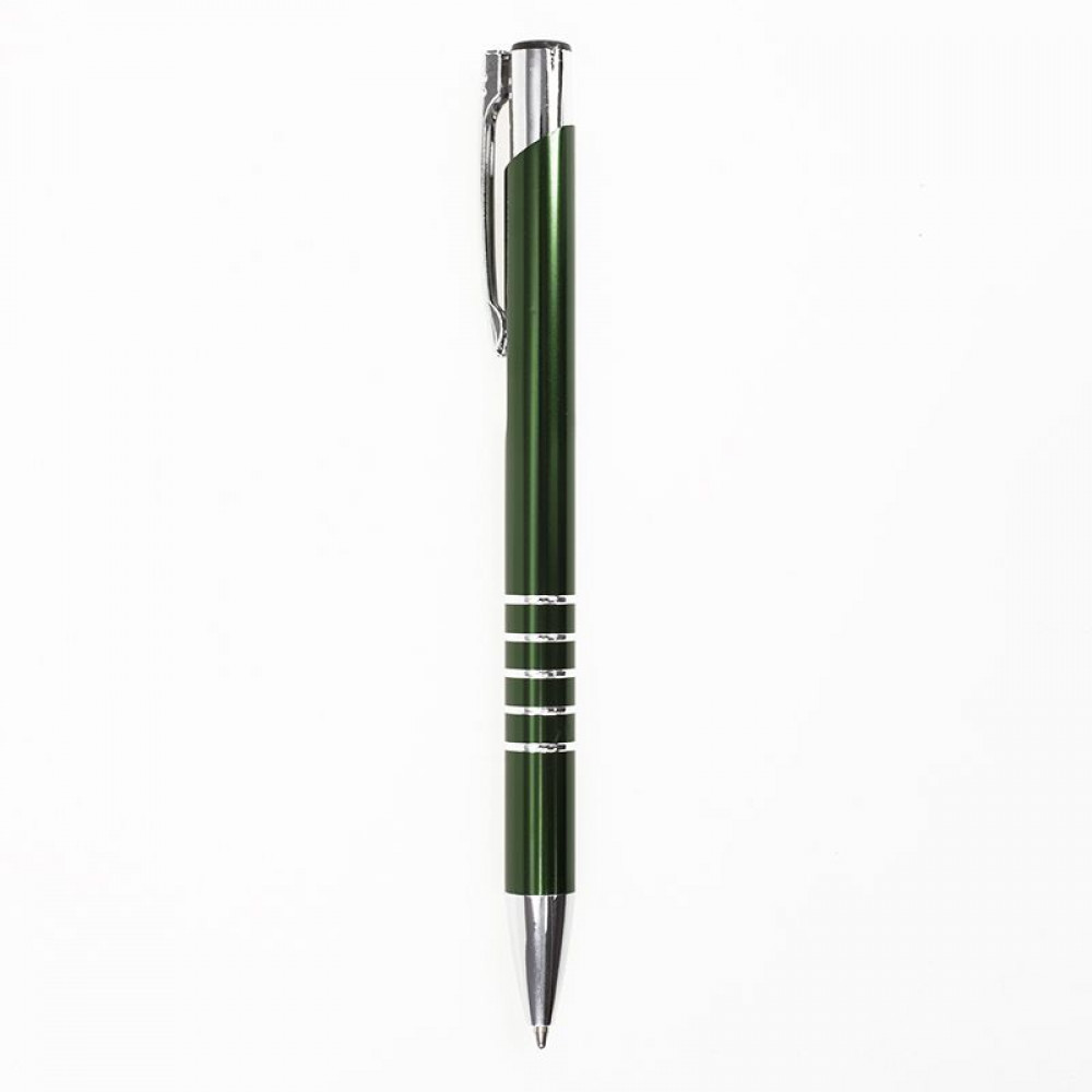 Стильная ручка в цветном корпусе из металла и хромированными деталями, 6035M под гравировку