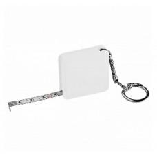 Брелок у формі рулетки, з назвою Meter, виробництва Discover, квадратної форми під тампо-друк