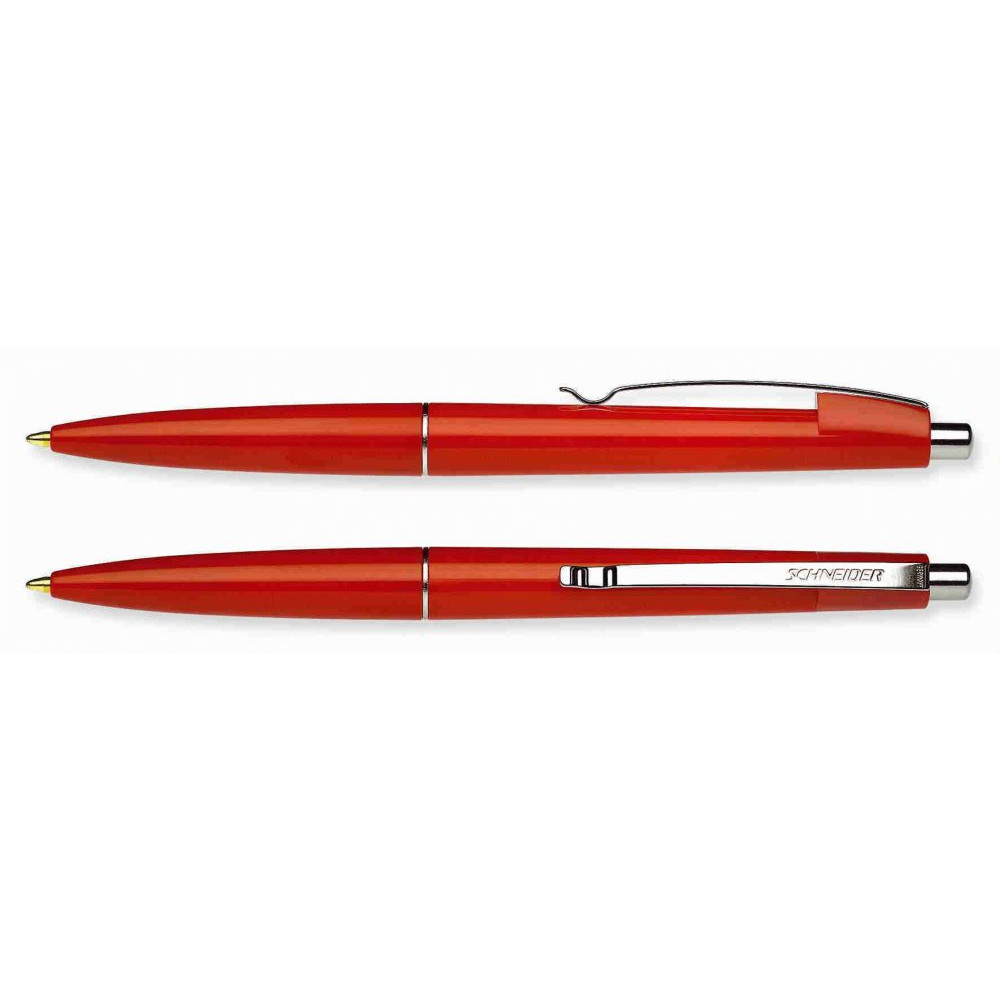 Ручка под моделью Office от производителя Schneider в крепком, цветном корпусе и металлическим клипом, под нанесение