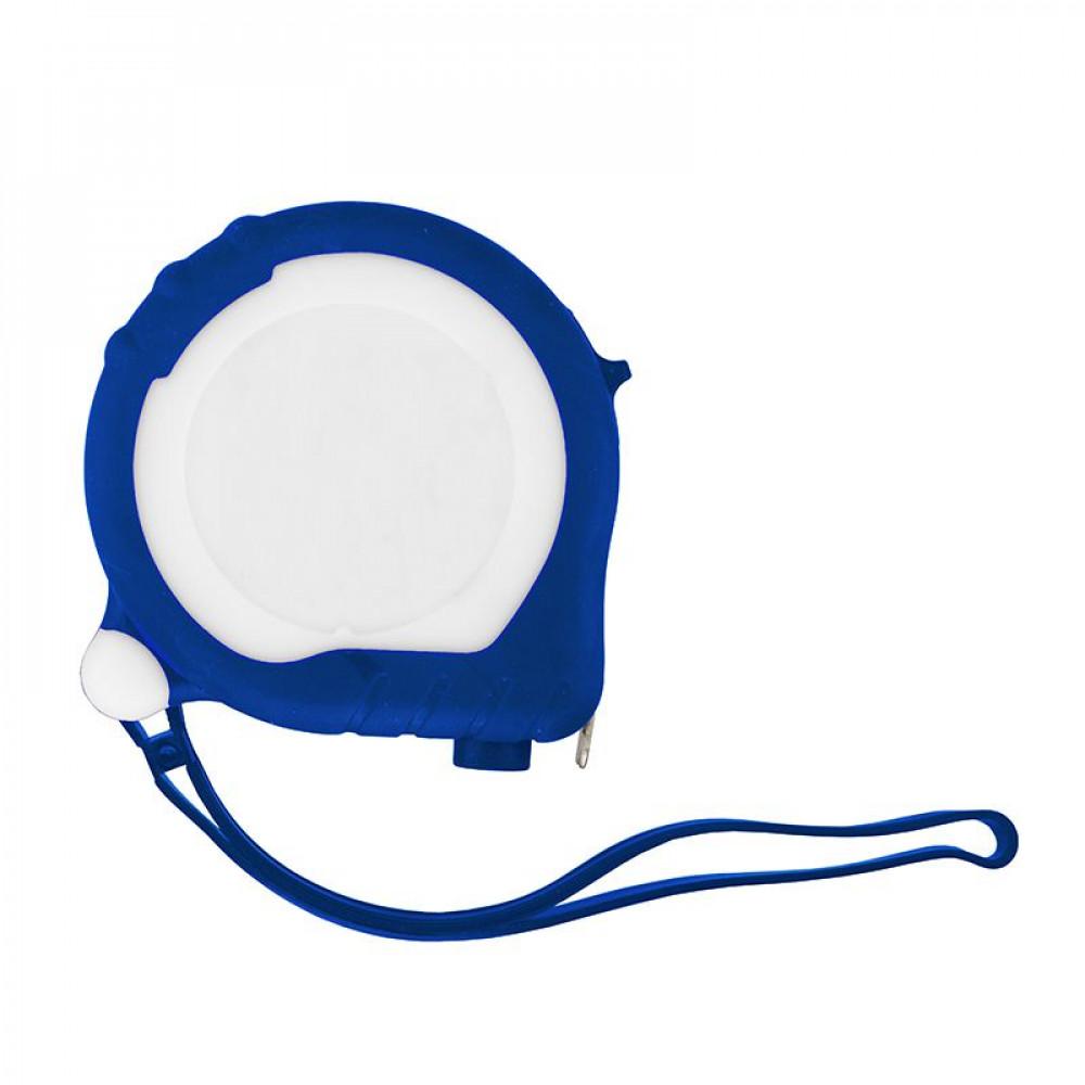 Рулетка с названием TAPE 200 длиной 3 мета в резиновом, цветном корпусе с двумя фиксаторами под печать