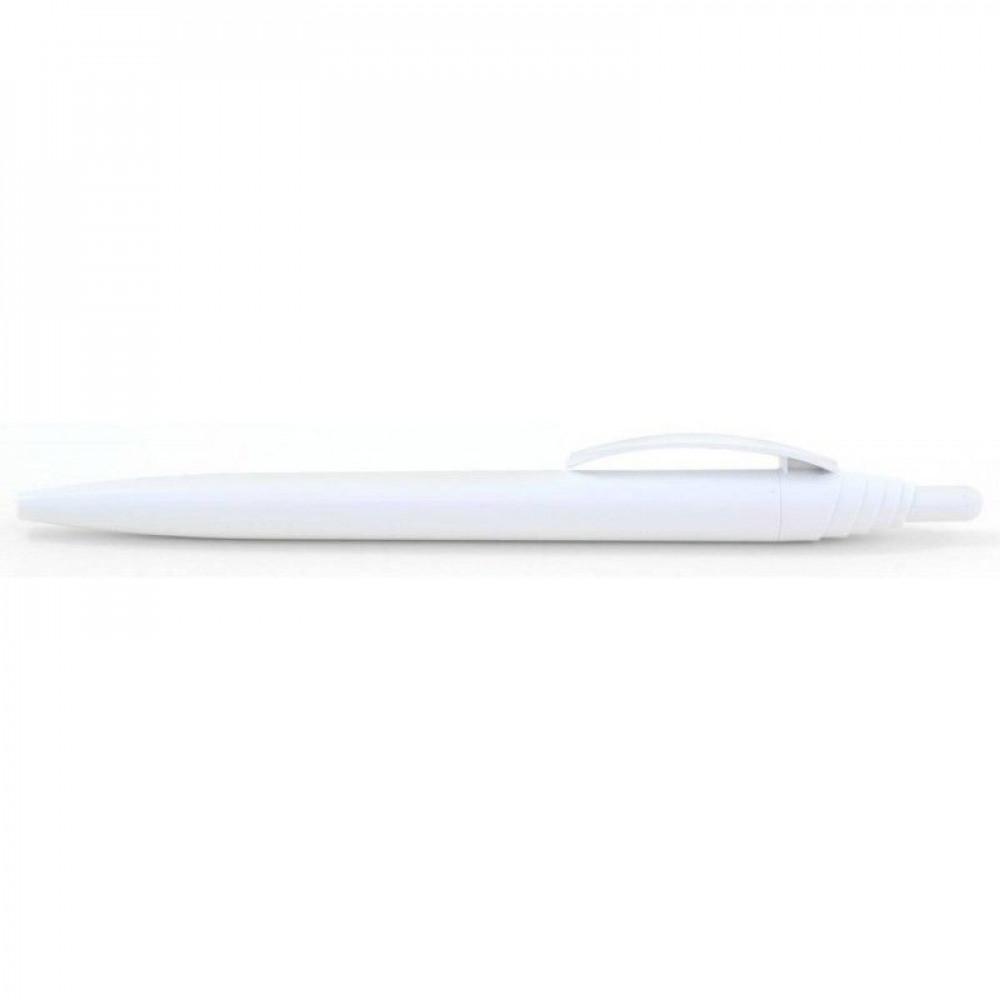 Ручка пластиковая с цветным, прозрачным клипом ТМ Bergamo 5356