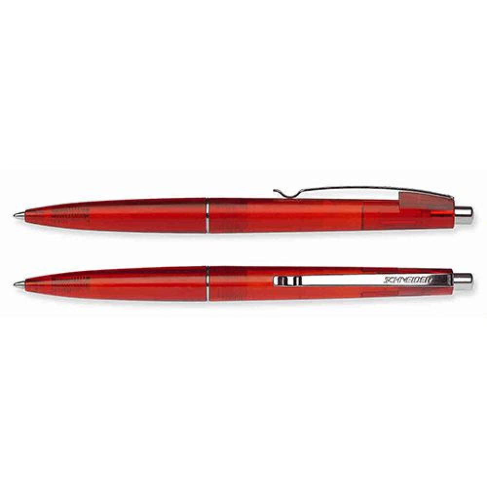Ручка немецкого качества Sunlite, от производителя Schneider в цветном, прозрачном корпусе под логотип