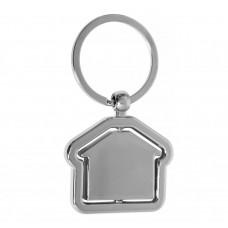 Брелок для ключів металевий у вигляді будиночка House