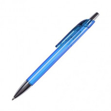 Ручка з напівпрозорого кольорового пластику з хромованими елементами 4300 під нанесення
