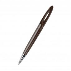 Ручка из пластика с необычным дизайном и хромированными элементами ТМ Bergamo 1580