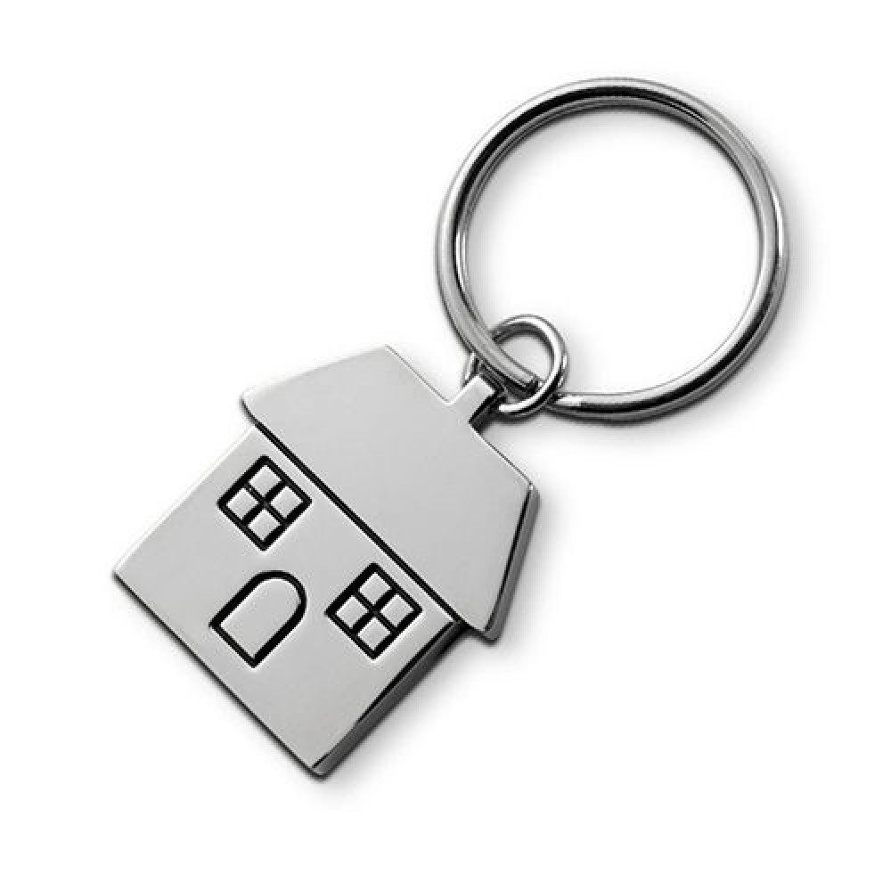 Брелок металлический в виде домика House 953601