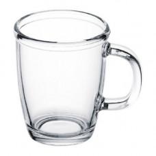 Чашка скляна ТМ Бергамо 920150