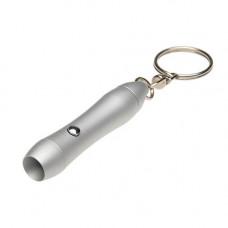 Компактний брелок-ліхтарик з металу під гравіювання 905005