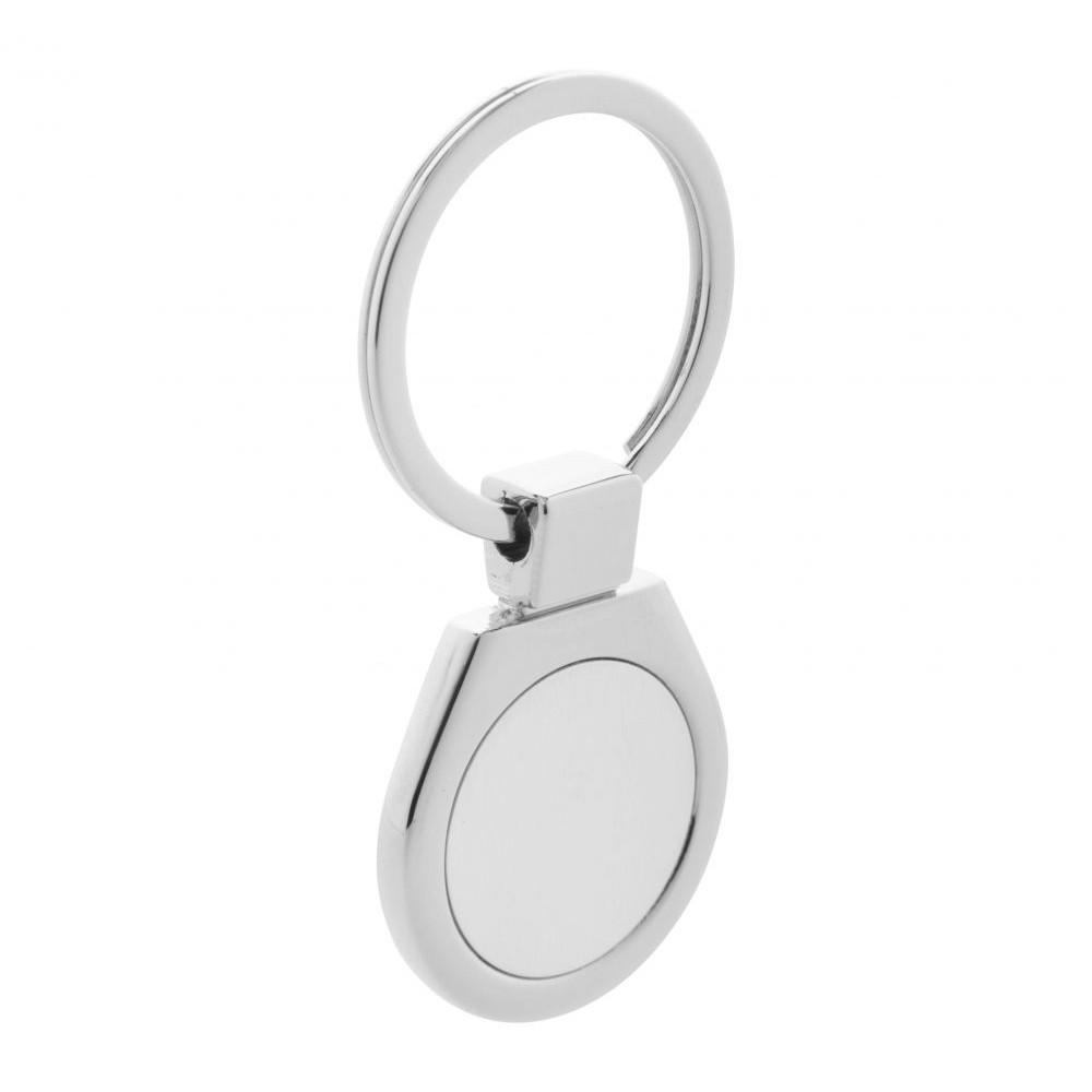 Брелок металевий для ключів Ball під лазерне гравіювання