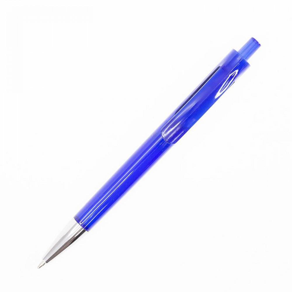 Ручка пластикова в кольоровому корпусі з металевим наконечником 4301