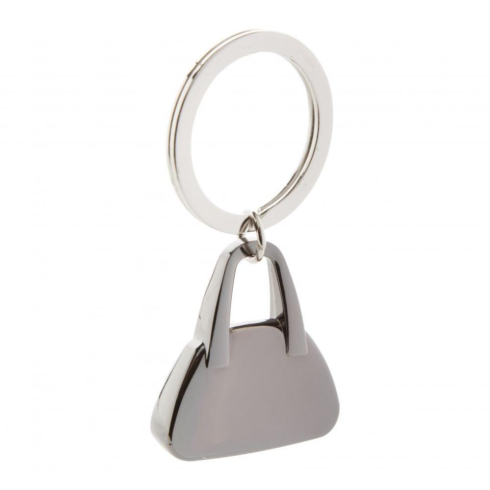 Брелок металлический в форме женской сумочки для ключей Share под гравировку