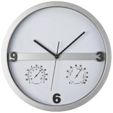 Часы с термометром и гигрометром 434490