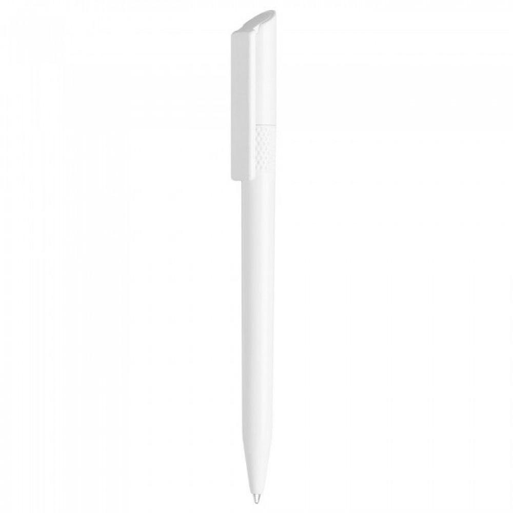 Ручка пластиковая с рифлёными вставками и поворотным механизмом включения Twisty (Lecce Pen) под логотип