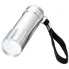 Ліхтарик в металевому кольорово корпусі з використанням LED технології 104105 під логотип