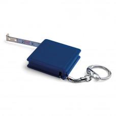 Брелок-рулетка з пластику в кольоровому корпусі 3941 на 1 метр під друк
