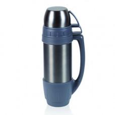 Термос MAXI, кришка - 2 гуртки, нержавіюча сталь, BPA FREE, 1200 мл. 8087-1