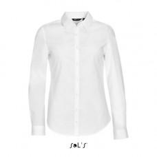 Сорочка жіноча з тканини стрейч з довгим рукавом SOL'S BLAKE WOMEN 01427