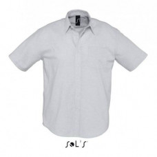 Сорочка з тканини «Оксфорд» SOL'S BRISBANE 160109