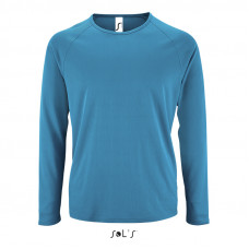 Чоловіча спортивна футболка з довгим рукавом SPORTY LSL MEN-02071