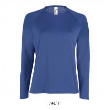Жіноча спортивна футболка з довгим рукавом SPORTY LSL WOMEN-02072